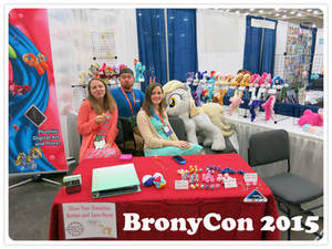 BronyCon 2015 Vendor Booth