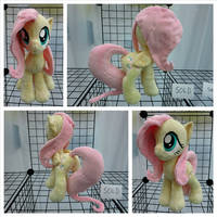 Fluttershy Plushie - Closed Wing by equinepalette
