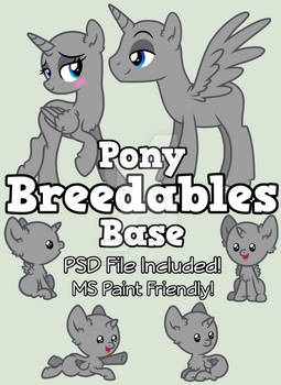 :P2U: Pony Breedables Base :P2U: