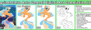 Digital Art Commission Sheet by equinepalette