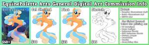 Digital Art Commission Sheet