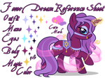 Fever Dream Reference Sheet by equinepalette