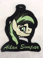 <b>Ailan Sempar Embroidered Badge</b><br><i>equinepalette</i>