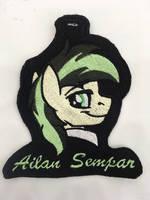 <b>Ailan Sempar Embroidered Badge</b><br><i>equinepalette</i>