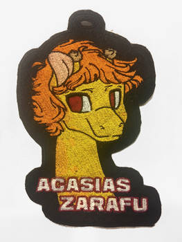 Acasias Zarafu Embroidered Badge