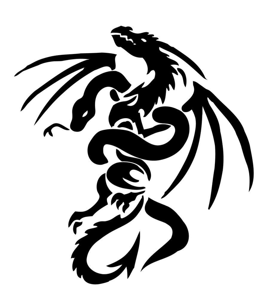 dragon and snake by yuzukimadoko designs interfaces tattoo design 2007    Dragon Snake Tattoo