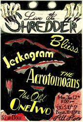 Live at The Shredder, Jan 12th