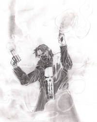 the Punisher by Attama13