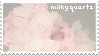 milky quartz stamp by creamwave