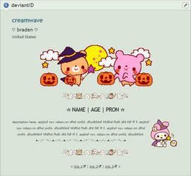 cute halloween custom box code (F2U / NON CORE) by creamwave