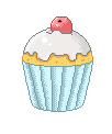 Pixel Cupcake by ImLauraa