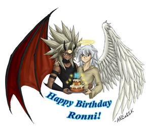 The Angel and the Devil - Happy Birthday, Ronni!
