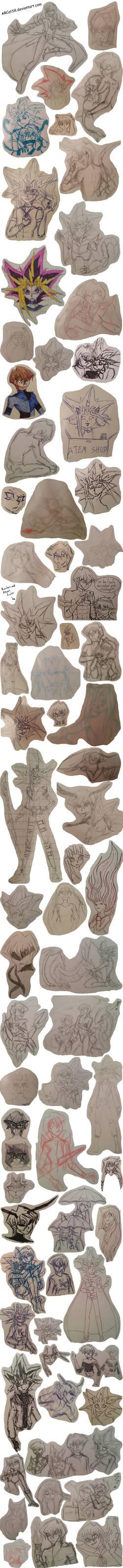 Yu--Gi-Oh! Sketchdump 4