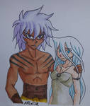 Khal and Khaleesi by ARCatSK