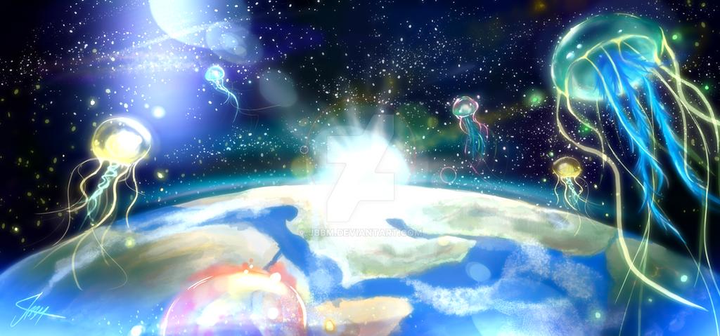 Space Jellyfish by JBBM