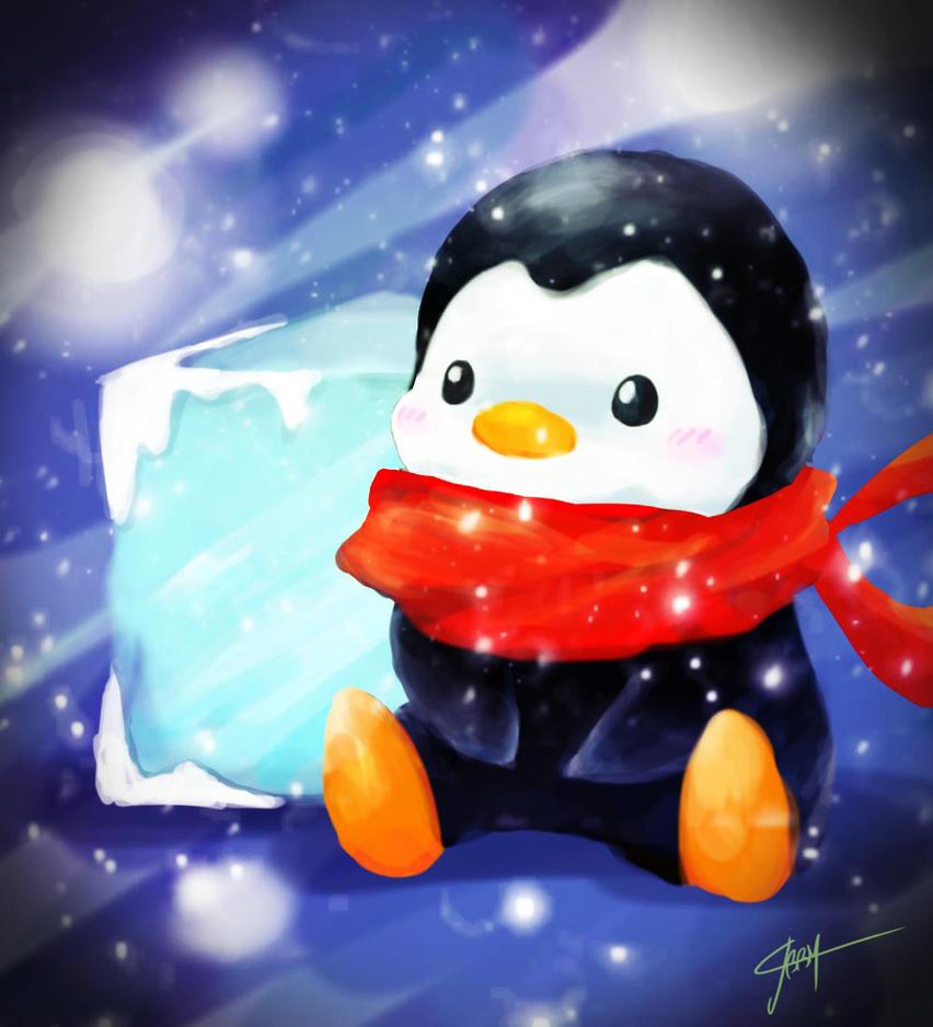 Adorable Penguin by JBBM