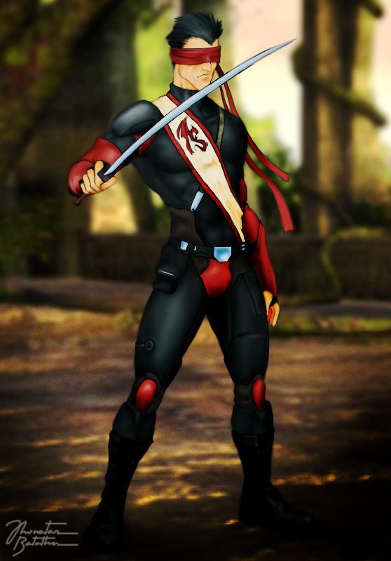 Pre Mortal Kombat Deadly Alliance Blind Kenshi By