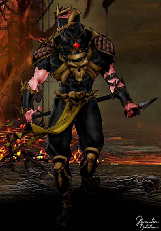 Mortal Kombat Deception Scorpion Alternate Costume