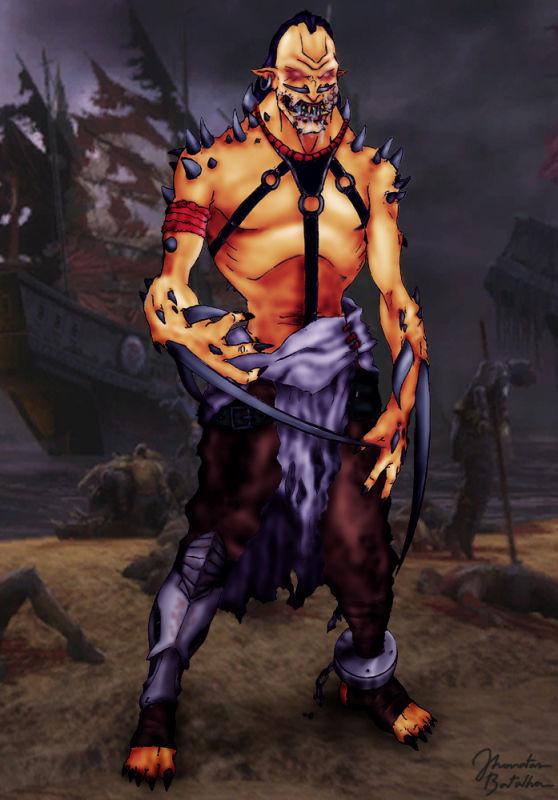 Mortal Kombat: Sheeva by JhonatasBatalha on DeviantArt