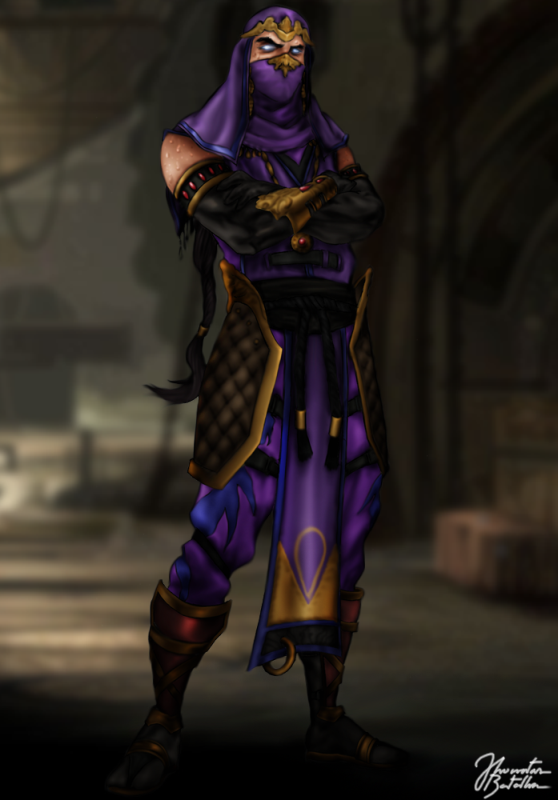 Mortal Kombat: Rain by JhonatasBatalha