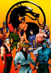 KUMITE ( Pre - Mortal Kombat) by JhonatasBatalha