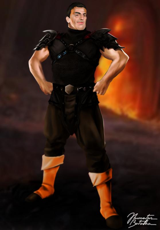Mortal Kombat Legacy Shao Kahn By Jhonatasbatalha On Deviantart