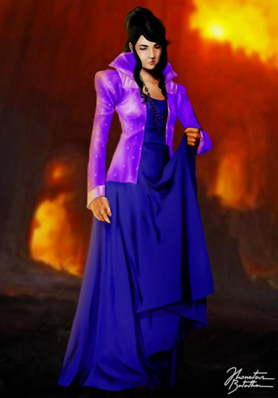 Mortal Kombat Legacy Queen Sindel By Jhonatasbatalha On Deviantart