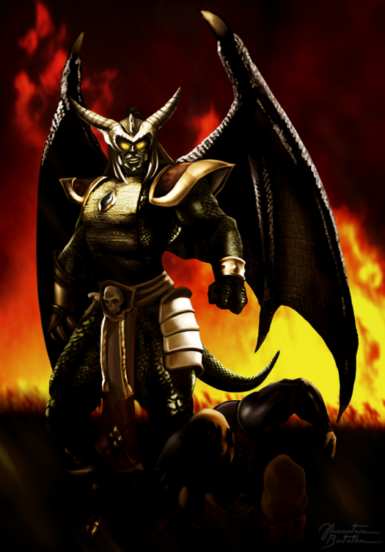 Mortal Kombat - Deception: Onaga - The Dragon King by ...