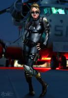 Mortal Kombat X: Cassie Cage (BETA) by JhonatasBatalha