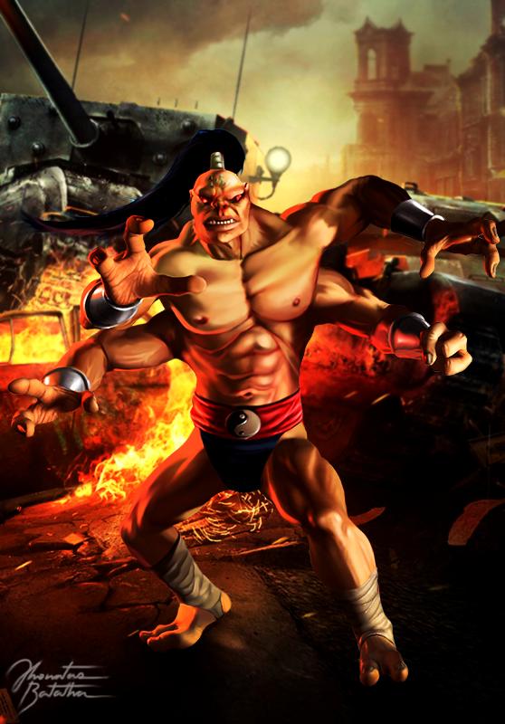 Mortal Kombat Prince Of Pain Comic Book Goro By