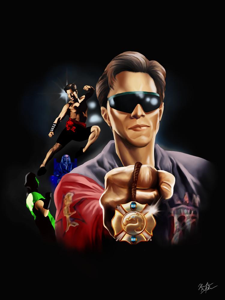 Johnny Cage Mortal Kombat Tour