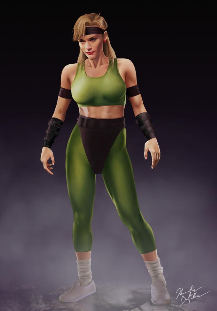 Sheeva front by zakuman | Wonder woman, Mortal kombat 2