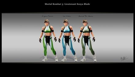 Mortal Kombat 3: Lt. Sonya Blade