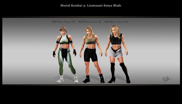 Mortal Kombat 3 (Promo Version): Lt. Sonya Blade