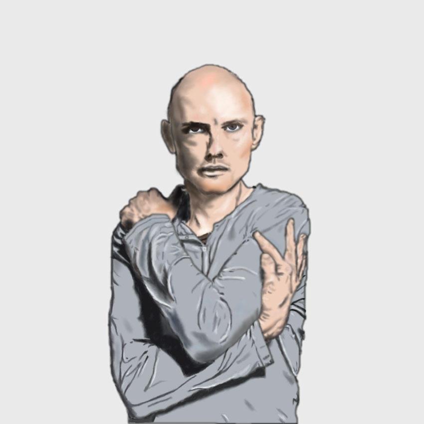Billy Corgan in Grey finished