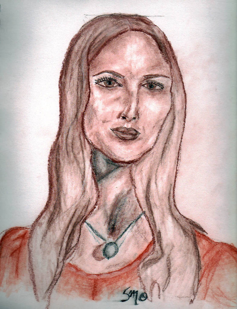 Potrait of Mom