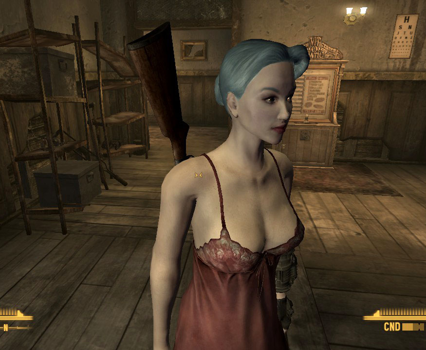 Fallout New Vegas: Having Sex With Red Lucy!