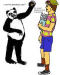 Panda vs. Idiot