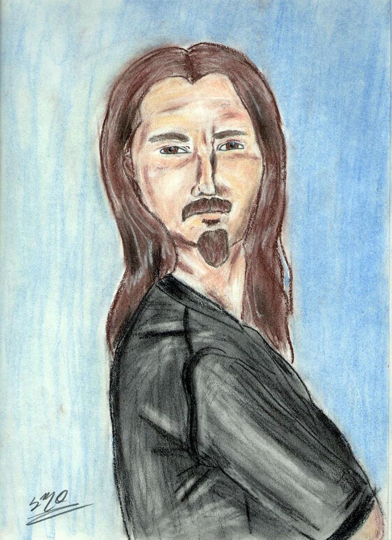 Bryan Beller sketch finished by Zandoz