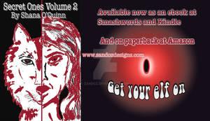 Secret Ones Volume 2 Banner