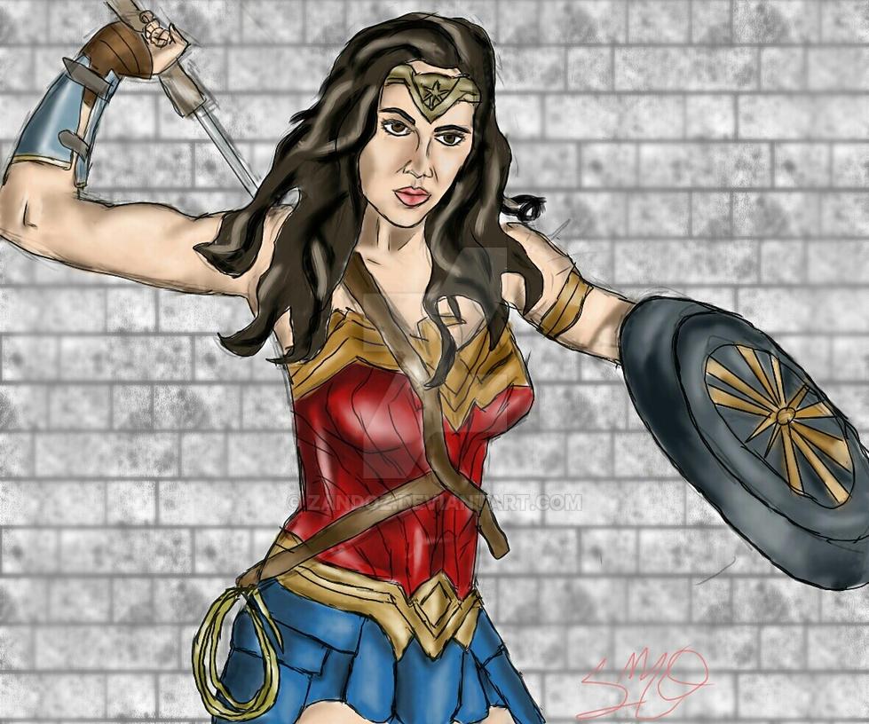 Wonder Woman by Zandoz