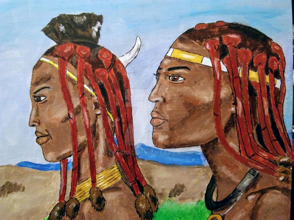 The Himba by Zandoz
