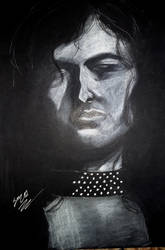 Jimmy Page in Darkness
