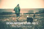 Vintage Photoshop Actions - Vol. 3