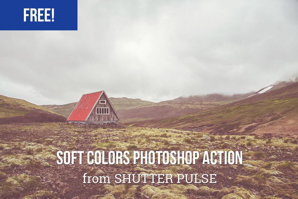 Free Soft Colors Photoshop Action