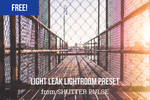Free Light Leak Lightroom Preset