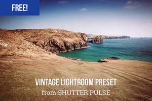 Free Vintage Lightroom Preset by shutterpulse