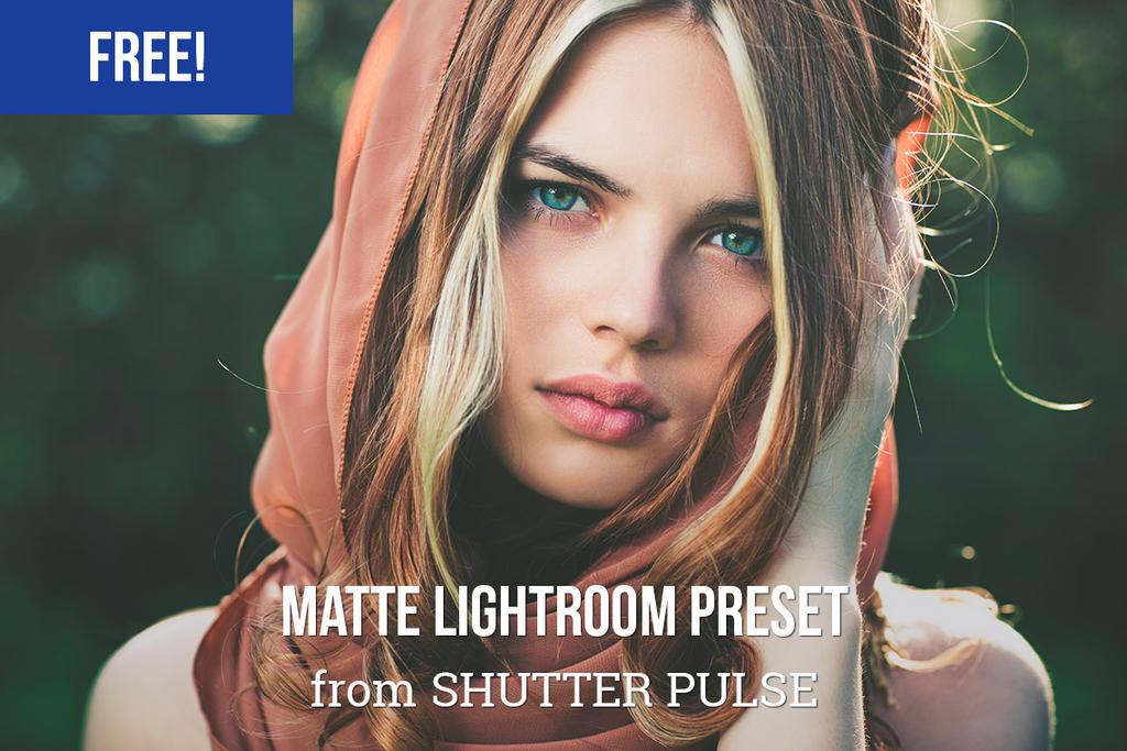 Free Matte Lightroom Preset