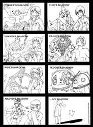 Persona 4 Shadows by ShiSeptiana