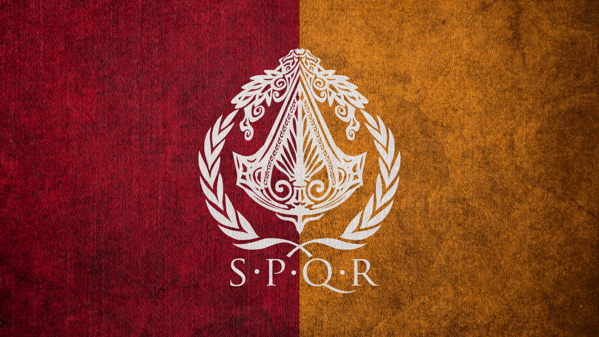 Assassin's Creed: Brotherhood of Rome Flag by okiir